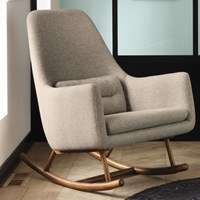 Cb2 Saic Quantam Rocking Chair