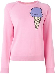 Peter Jensen Ice Cream Intarsia Sweater