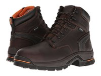 Timberland Stockdale 6 Alloy Safety Toe Waterproof Boot Brown Full Grain Leather Men's Work Boots