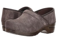 Sanita Professional Sahara Antique Brown Clog Shoes