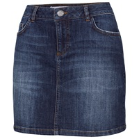 Fat Face Denim Mini Skirt Blue