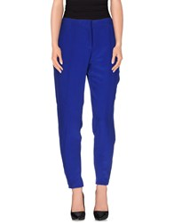 Beayukmui Trousers Casual Trousers Women Blue