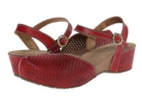 Spring Step Lizzie Red Women's Sandals