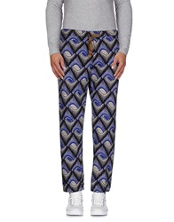 Myths Trousers Casual Trousers Men Blue