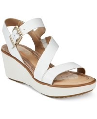 Easy Spirit Isandra Platform Sandals Women's Shoes White