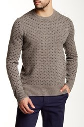 J.Crew Factory Nordic Dot Lambswool Crew Sweater Multi