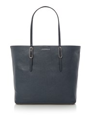 Coccinelle Flo Soft Tote Bag Navy