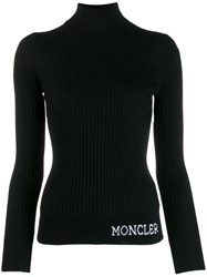 Moncler Turtle Neck Jumper Black