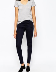 Just Female Storm High Rise Skinny Jeans Darkblue