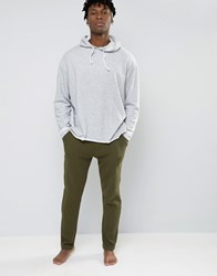 Selected Homme Joggers With Cuffed Ankle In Slim Fit Waffle Green