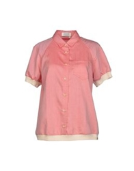 Jeckerson Blouses Brick Red