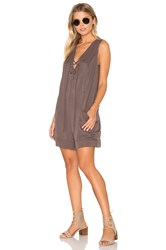 Bcbgeneration Sleeveless Romper Gray