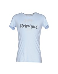 Refrigue Topwear T Shirts Sky Blue