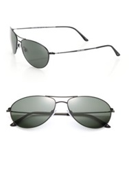 Giorgio Armani 60Mm Pilot Sunglasses Black Bronze
