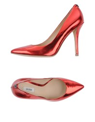 Guess Footwear Courts Women Red