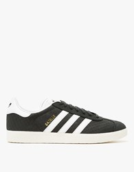 Adidas Gazelle In Black White Black White