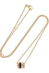 Boucheron Quatre Classique 18 Karat Gold Diamond Necklace One Size