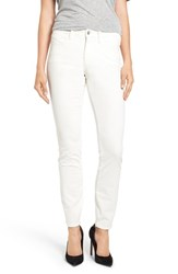 Nydj Women's 'Alina' Skinny Stretch Corduroy Pants Winter White