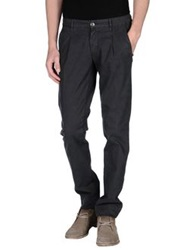 One Seven Two Casual Pants Steel Grey