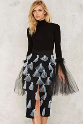 House Of Cards Elles Bow Skirt Black