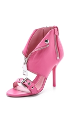 Moschino Leather Sandals Pink