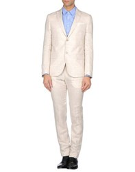 Grey Daniele Alessandrini Suits And Jackets Suits Men