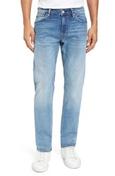 Vigoss Men's Slim Straight Leg Jeans Light Wash