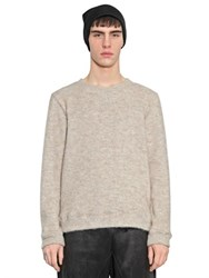 08 Sircus Cotton And Mohair Fleece Sweater