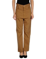 Golden Goose Denim Pants Camel