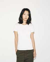 Sunspel Short Sleeve T Shirt White