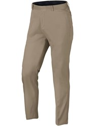 Nike Men's Flat Front Trousers Khaki