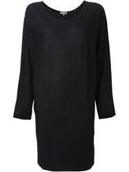 N.Peal Superfine Batwing Tunic Black