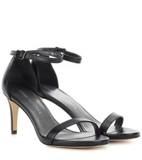 Stuart Weitzman Nunaked Leather Pumps Black