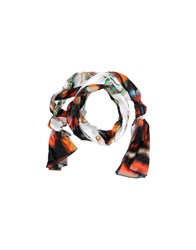 Grey Daniele Alessandrini Accessories Oblong Scarves Women White