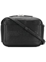 Calvin Klein 205W39nyc Embossed Cross Body Bag Black