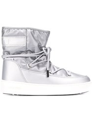 Moon Boot Ankle Snow Boots Grey