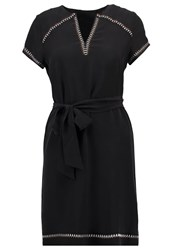 Ikks Summer Dress Noir Black