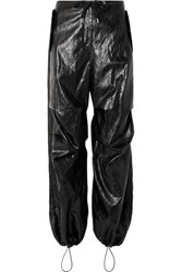 Alexander Wang T By Faux Leather Pants Black