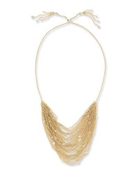 Kendra Scott Anastasia Golden Multi Row Chain Necklace