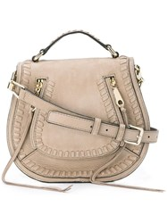 Rag And Bone Small Vanity Saddle Bag Nude Neutrals