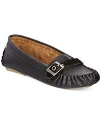 Bearpaw Brooke Brooke Driving Moccasins Women's Shoes Black