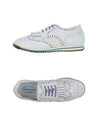 Barracuda Lace Up Shoes White
