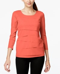Alfani Tiered Mesh Top Only At Macy's
