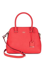 Kate Spade Maise Leather Dome Satchel Prickly Pink