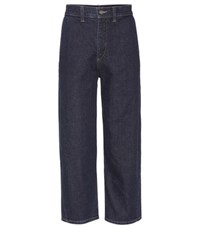 Vince High Waisted Jeans Blue