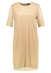 Selected Femme Sfnune Cocktail Dress Party Dress Gold Colour