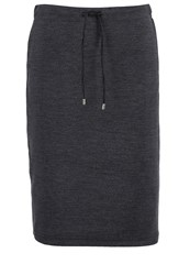Opus Raschja Pencil Skirt Raven Grey