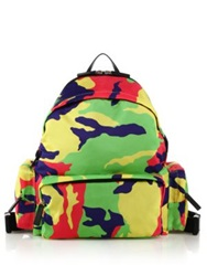 Dsquared Jerry Camo Print Backpack Multicolor