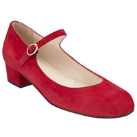 John Lewis Anastasia Mary Jane Court Shoes Red
