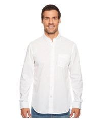 Dockers Long Sleeve Stretch Woven Shirt Paper White Clothing